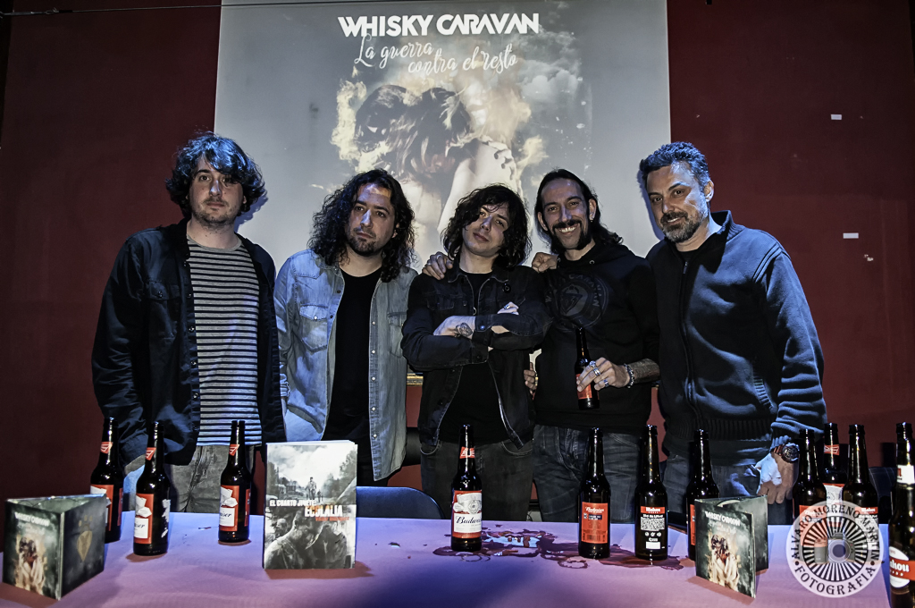Whiski Caravan Preescucha